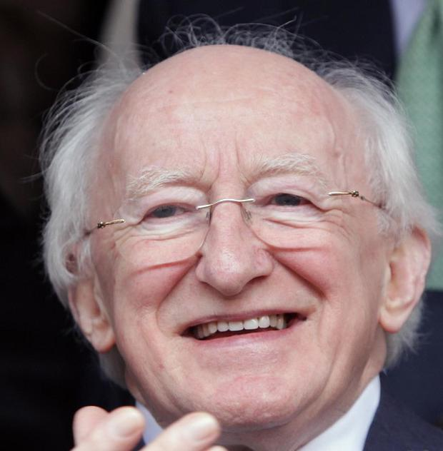 Michael D Higgins has praised the 'courage, commitment and sporting prowess' of the Irish Paralympians
