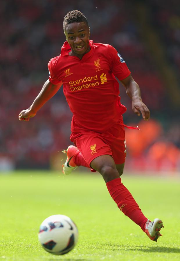 Liverpool's Raheem Sterling has been called up to the England squad