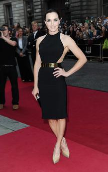 Victoria Pendleton attends the GQ Men of the Year Awards 2012 at The Royal Opera House on September 4, 2012 in London