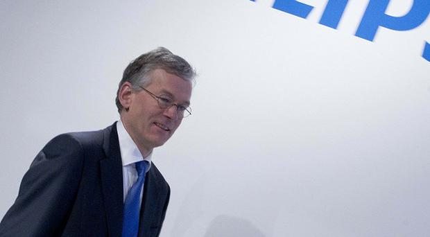 Royal Philips Electronics CEO Frans van Houten announced 2,200 job cuts