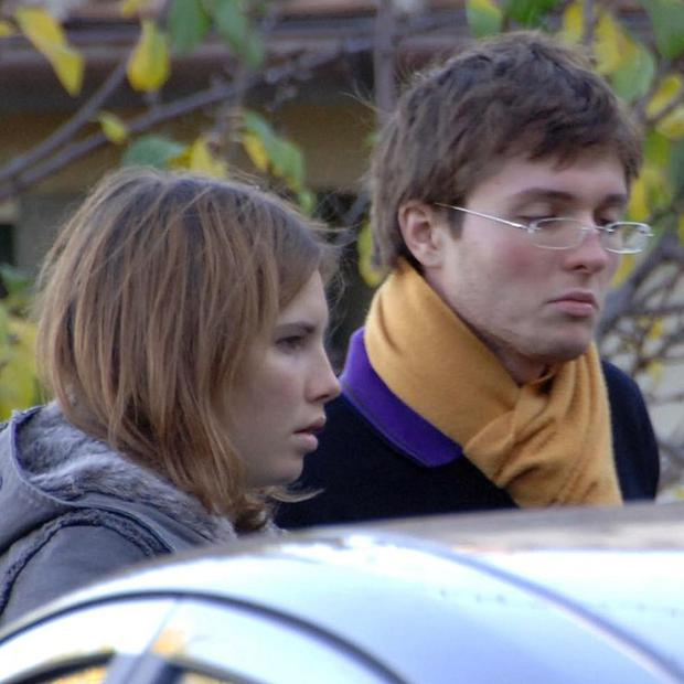 Amanda Knox and her then-boyfriend Raffaele Sollecito pictured in 2007 (AP/Stefano Medici)