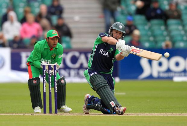 Ireland skipper William Porterfield is plotting the downfall of Zimbabwe today