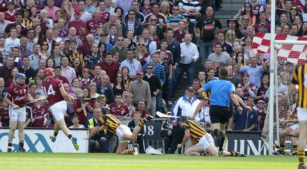 Fans, and journalists, were thrilled by Joe Canning's stunning goal
