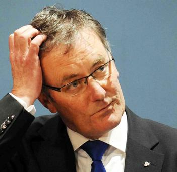 Baptism of fire: new Ulster Unionist leader Mike Nesbitt