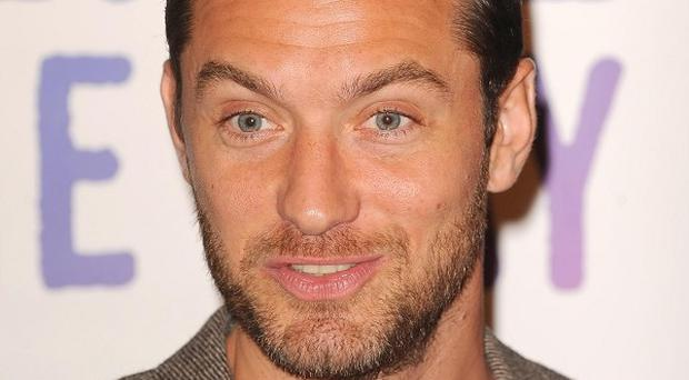 Jude Law said he's wanted to work with Wes Anderson for years