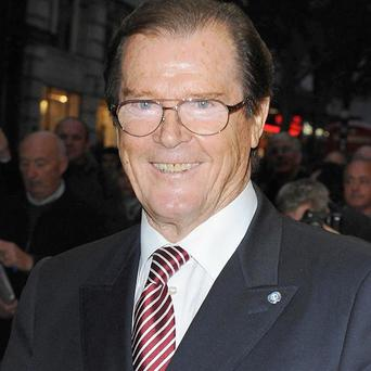 Sir Roger Moore has been talking to Piers Morgan