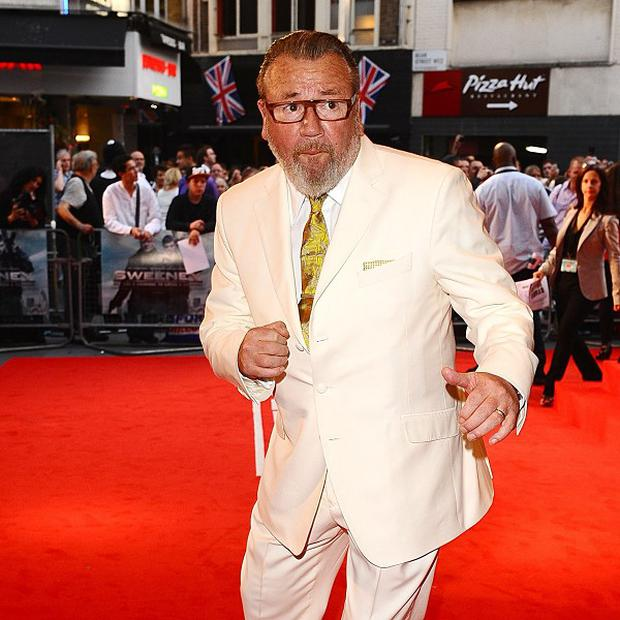 Ray Winstone enojyed the rough and tumble of filming action sequences for The Sweeney