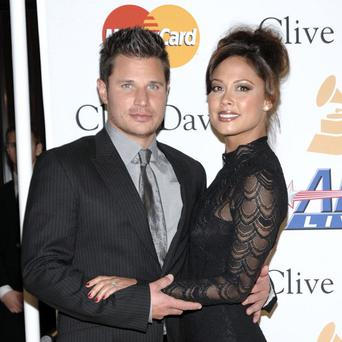 Nick and Vanessa Lachey have become new parents