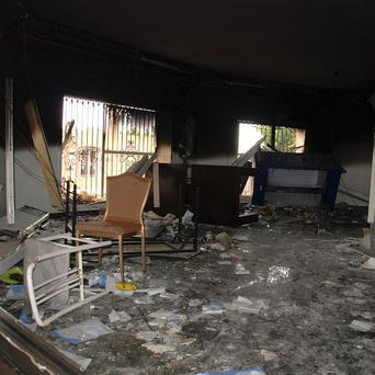 Christopher Stevens and three colleagues died during an attack on the US embassy in the eastern city of Benghazi (AP)