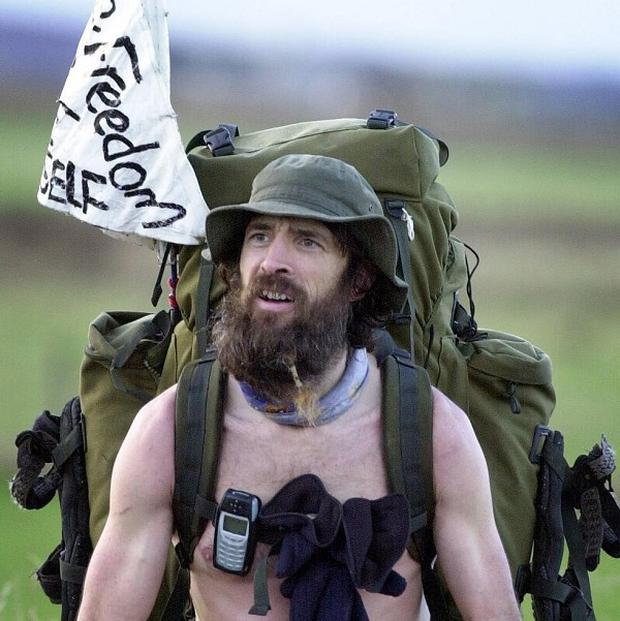 'Naked Rambler' Stephen Gough was jailed for breaching the peace