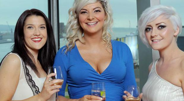 DANI Awards at Titanic Belfast - .Kirsty Nixon, Suzy Byers and Clare Gilbride