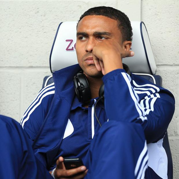 West Bromwich Albion's Jerome Thomas cuts a frustrated figure as he faces further time on the sidelines