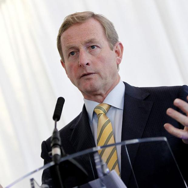 Taoiseach Enda Kenny speaks at an event to announce that Xtralis is establishing its international operating headquarters in Dublin