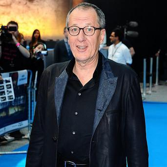 Geoffrey Rush revealed people leave scripts on his doorstep