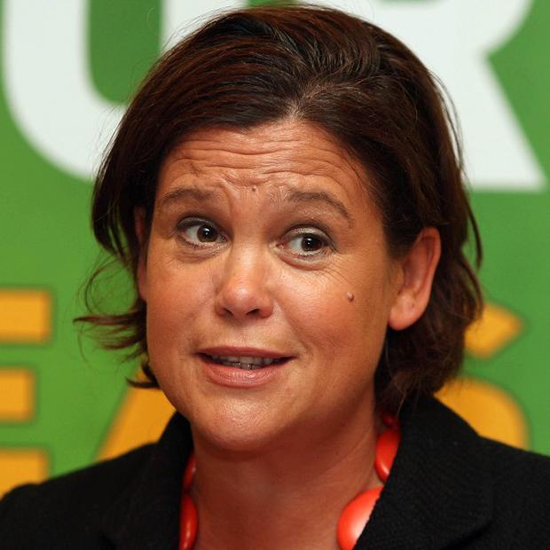 Sinn Fein's Mary Lou McDonald described the IFAC plans as reckless