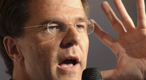 Dutch caretaker prime minister Mark Rutte , who is hoping to form a coalition government (AP)