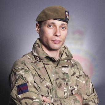 Lance Corporal Duane Groom from The Queen's Company, 1st Battalion Grenadier Guards who as killed on Friday
