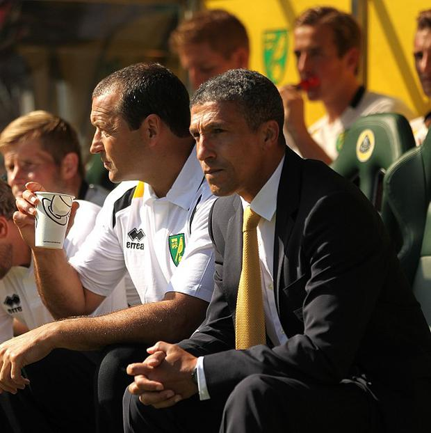 Norwich manager Chris Hughton was pleased with his side's efforts against West Ham