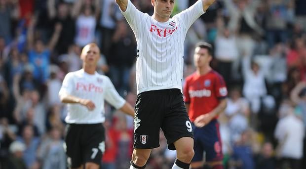 Dimitar Berbatov was praised for his all-round performance against West Brom