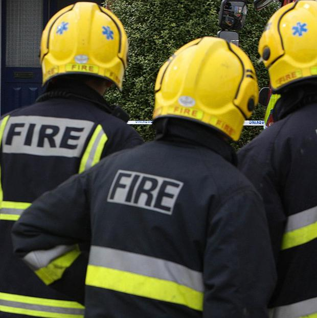 Firefighters were called after reports of smoke coming from a house in Roscommon