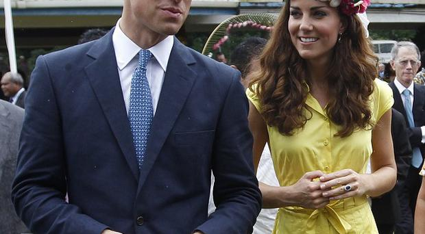 The Duke and Duchess of Cambridge in Honiara, Solomon Islands (AP/Daniel Munoz)