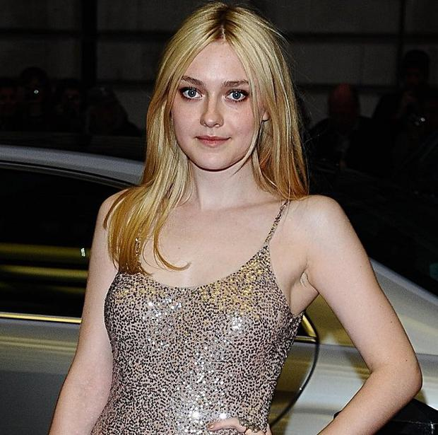 Dakota Fanning at the premiere of Now Is Good at the Curzon Mayfair in London