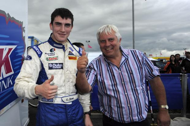 Craig Breen with his father Ray