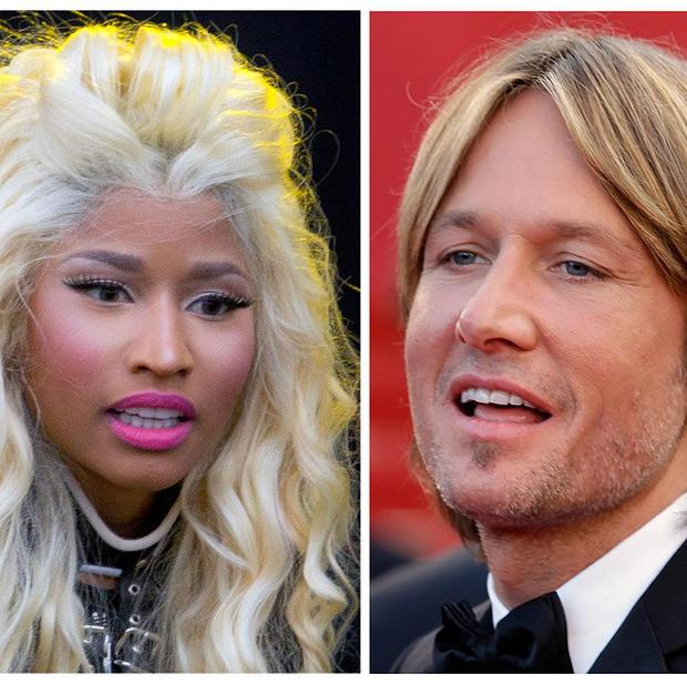 Nicki Minaj and Keith Urban have been announced as new American Idol judges (AP)