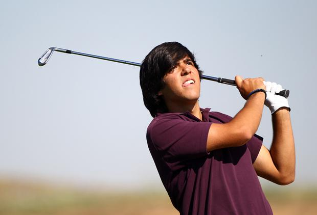 Javie Ballesteros dedicated his victory to his late father