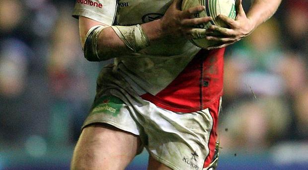Ulster rugby player Nevin Spence who was killed, along with his father and brother in a farming accident