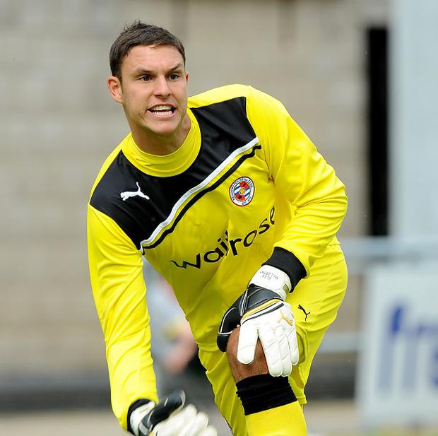 Alex McCarthy is hoping to cement his place in the Reading side