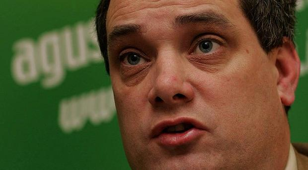 Aengus O Snodaigh has condemned attackers who threw a petrol bomb into the building that houses his consituency office