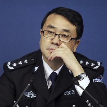 Ex-police chief Wang Lijun was accused of defection and abuse of power (AP)