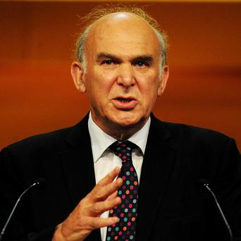 Vince Cable plans to launch a Government-backed bank to help increase lending to small businesses