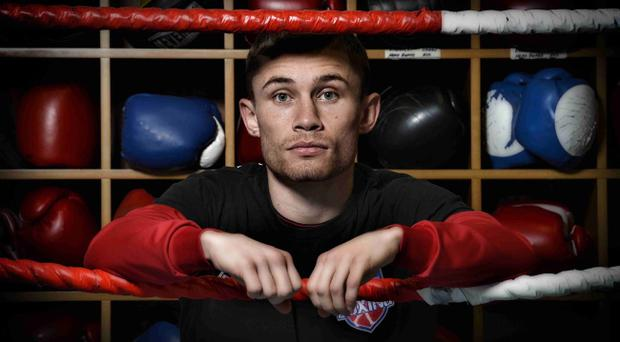 Carl Frampton is relishing his battle with Steve Molitor at the Odyssey Arena on Saturday night