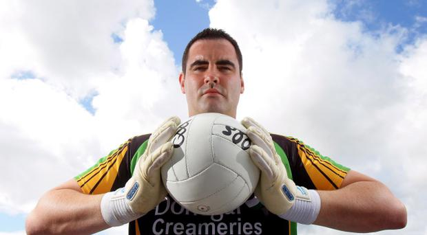 Donegal's imposing goalkeeper Paul Durcan