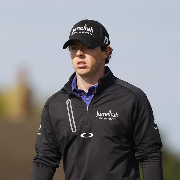 Rory McIlroy, pictured, has been described as 'a marked man' by Jim Furyk