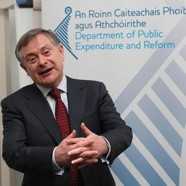 Minister for Public Expenditure and Reform Brendan Howlin put the failure down to the sheer size and scale of the review