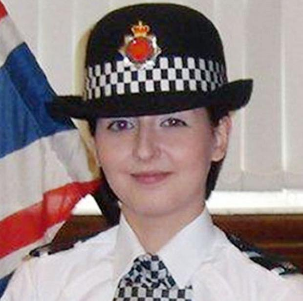 Pc Nicola Hughes was killed while attending a 'routine incident' with her colleague (GMP/PA)