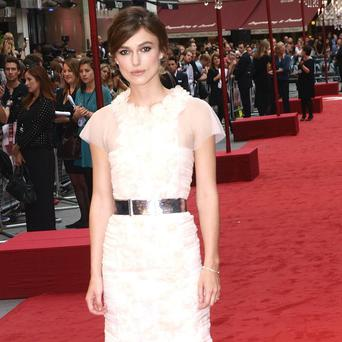 Keira Knightley has revealed how she was itching to take on a few more positive roles in films