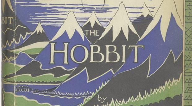 The 1937 first issue of the first edition of The Hobbit by J.R.R.Tolkien
