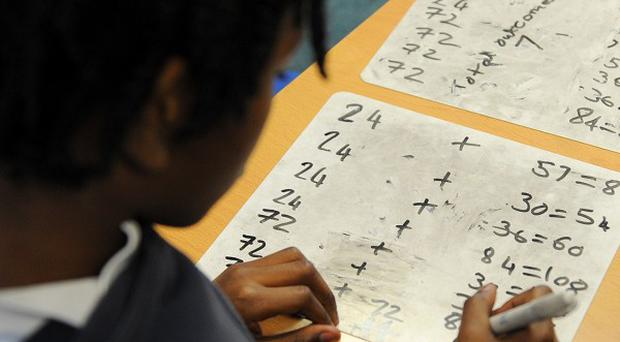 There has been a rise in the percentage of pupils reaching the standard expected of them in reading and maths