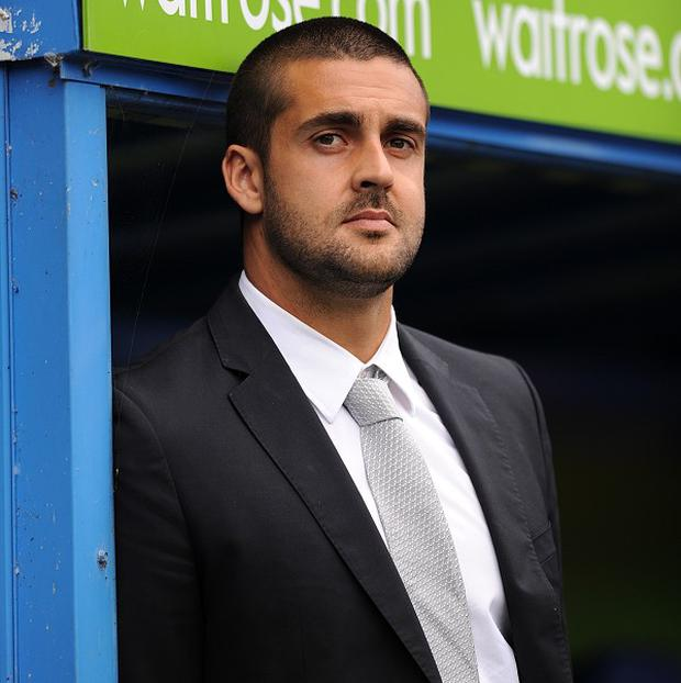 Adam Federici shown in the dugout on Sunday after not being picked for the Tottenham game