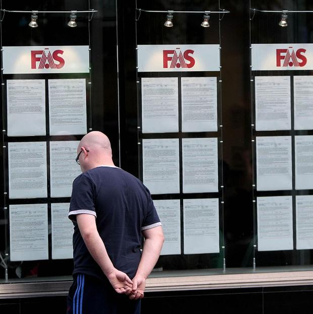 New figures show 308,500 people are out of work