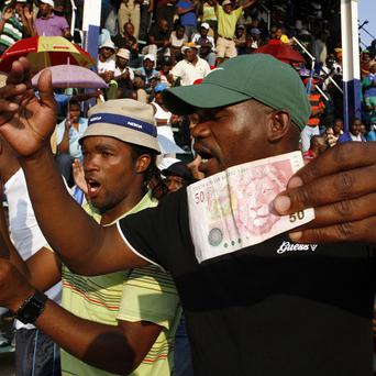 Striking miners have accepted a pay rise offer near Rustenburg, South Africa (AP)
