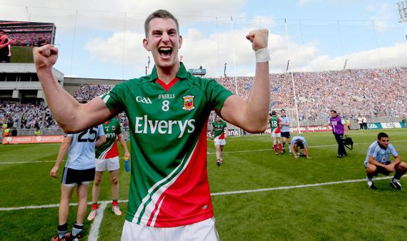 Barry Moran has managed to reinvent himself and has become a pivotal figure in Mayo's midfield
