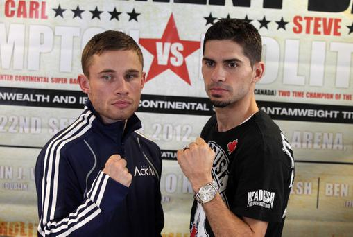 Carl Frampton and Steve Molitor