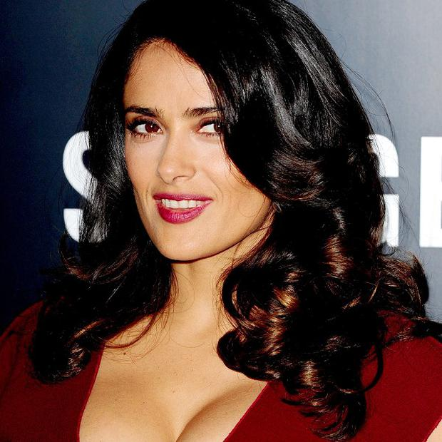 Salma Hayek plays a tough cookie in Savages