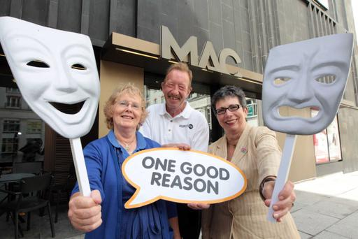 As part of the European Year of Active Ageing, volunteers Irene Harper and John Mitchell with Wendy Osborne, Chief Executive of Volunteer Now are calling on all over 50s throughout Northern Ireland to take part in the One Good Reason Action Day on 28th September and to try their hand at volunteering.