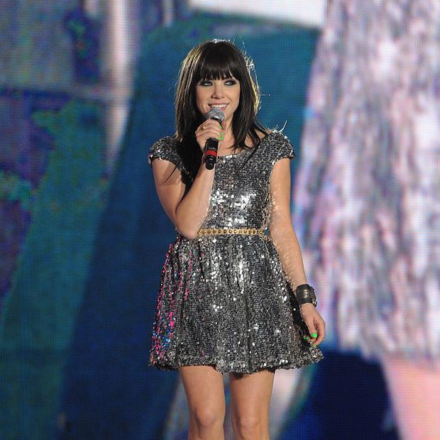 Carly Rae Jepsen said she has fallen in love with the UK